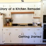 Getting Started on Our Kitchen Remodel